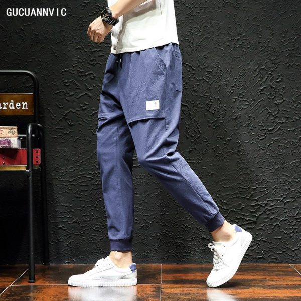Casual Pants Men Fashion Joggers Pant