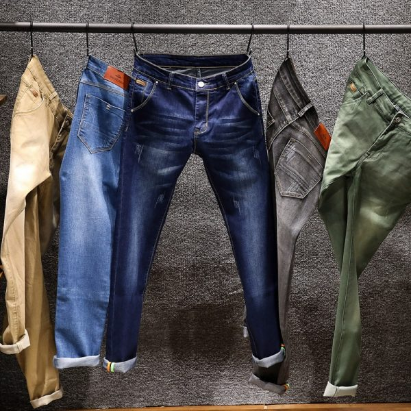 Fashion Designer Skinny Jeans Biker Denim Jeans