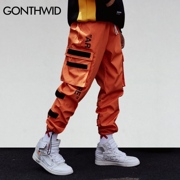 Harem Pants Hip Hop Male Tactical Joggers Trousers
