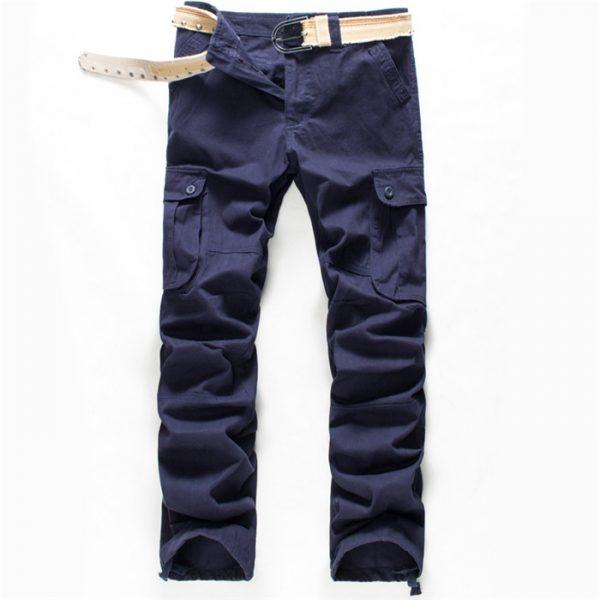 Men's Cargo Pants Cotton Trousers Joggers
