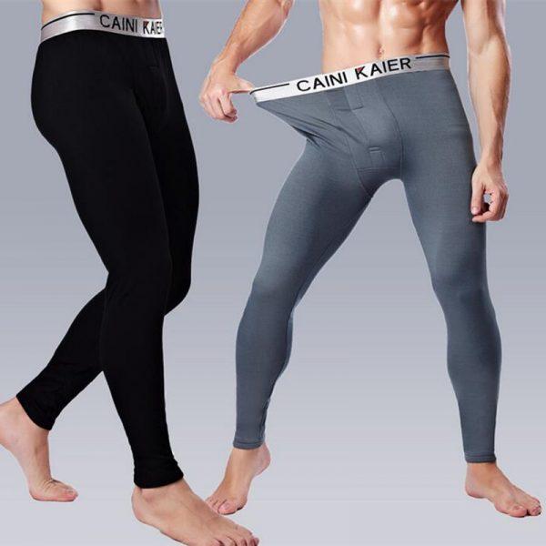 Men's Trousers Warm Winter Long Underwear