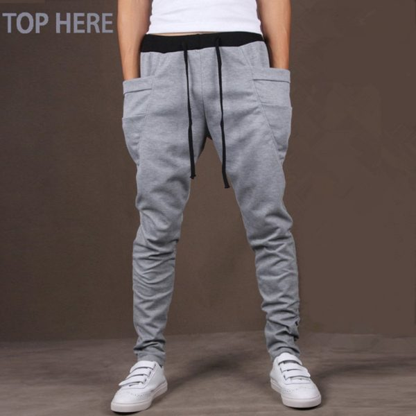 Men Casual Pants Army Trousers Harem Pants