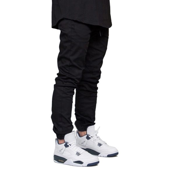 Men Jogger Pants Hip Hop Harem Stretch