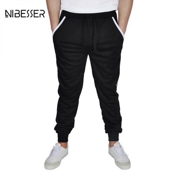 Men Pants Harem Pants Slim Joggers Trousers