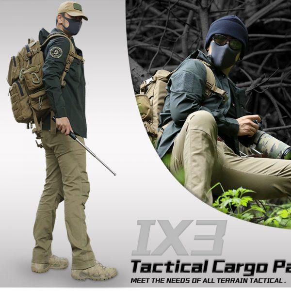 Men Tactical Pants Camouflage Cargo Pants
