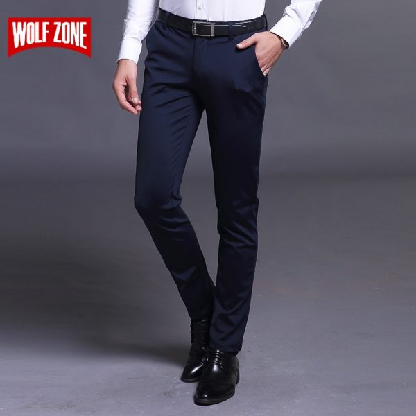Summer Casual Pants Male Business Trousers