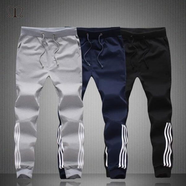 Summer Men Pants Fashion Skinny Sweatpants
