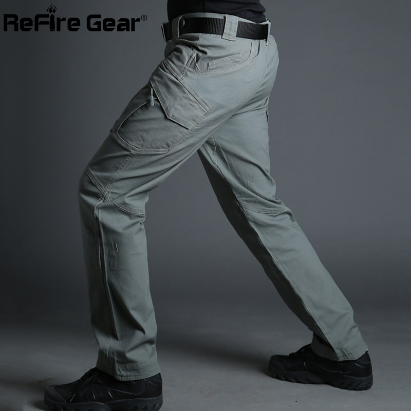 Tactical Cargo Pants Man Casual Trousers