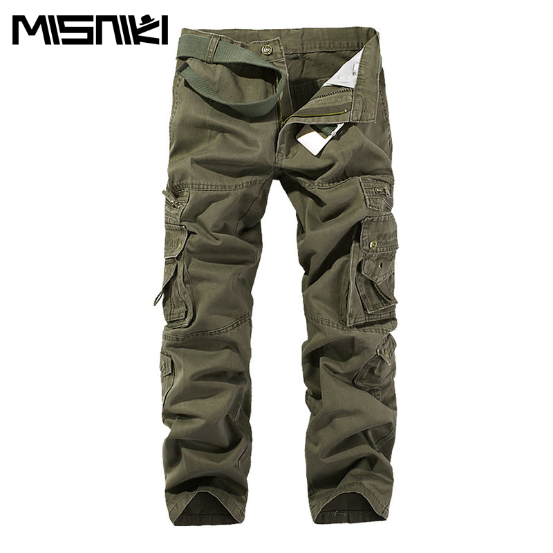 Tactical Men's Cargo Pants Casual Military Pants