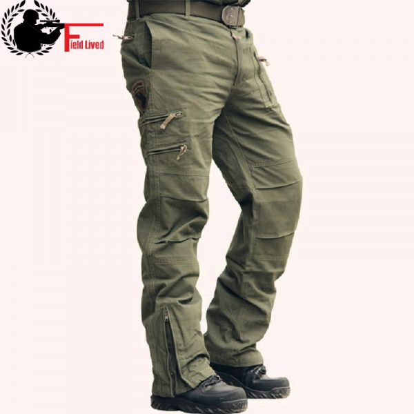 Tactical Pants Male Cotton Trouser