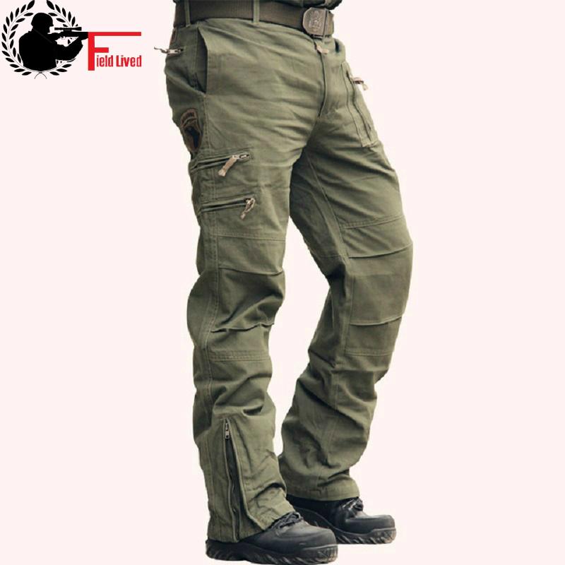 Tactical Pants Male Cotton Trouser