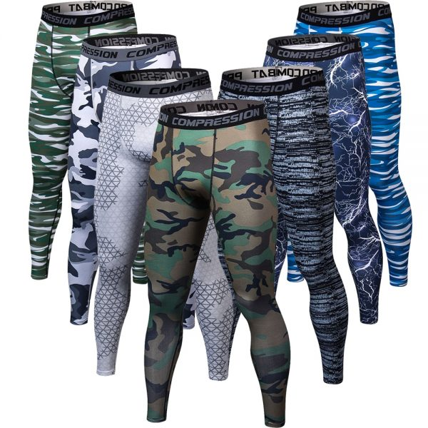3D Printing Camouflage Pants Men Joggers