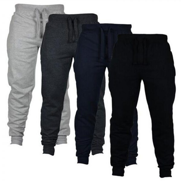Casual Pants Men Sweatpants High Street Trousers