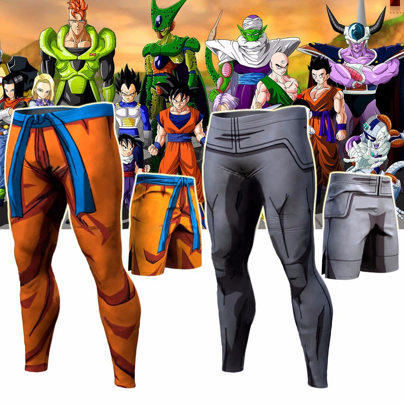 Dragon Ball Pants Compression Trousers