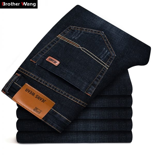 Fashion Jeans Stretch Slim Jeans Denim Pants