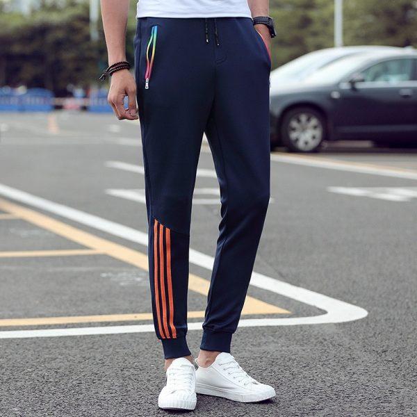 Men's Casual Pants Trousers Slim Fit Sweatpants