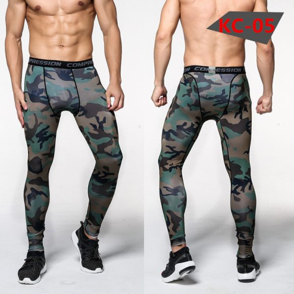 Men Compression Pants Tights Skinny Leggings