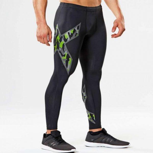 Men Compression Tight Long Pants Joggers