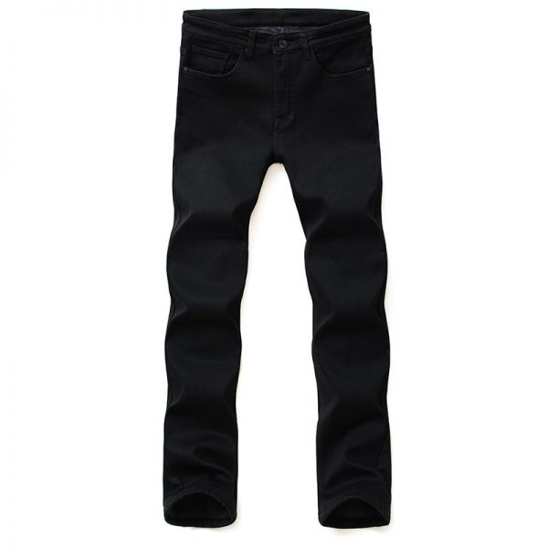 Men Jeans Trousers Elasticity Skinny Jeans