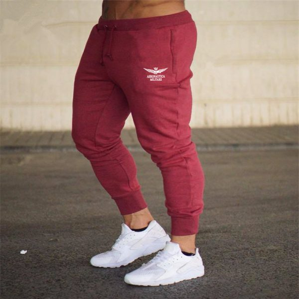 Print Men Trousers Modern Leisure Sweatpants