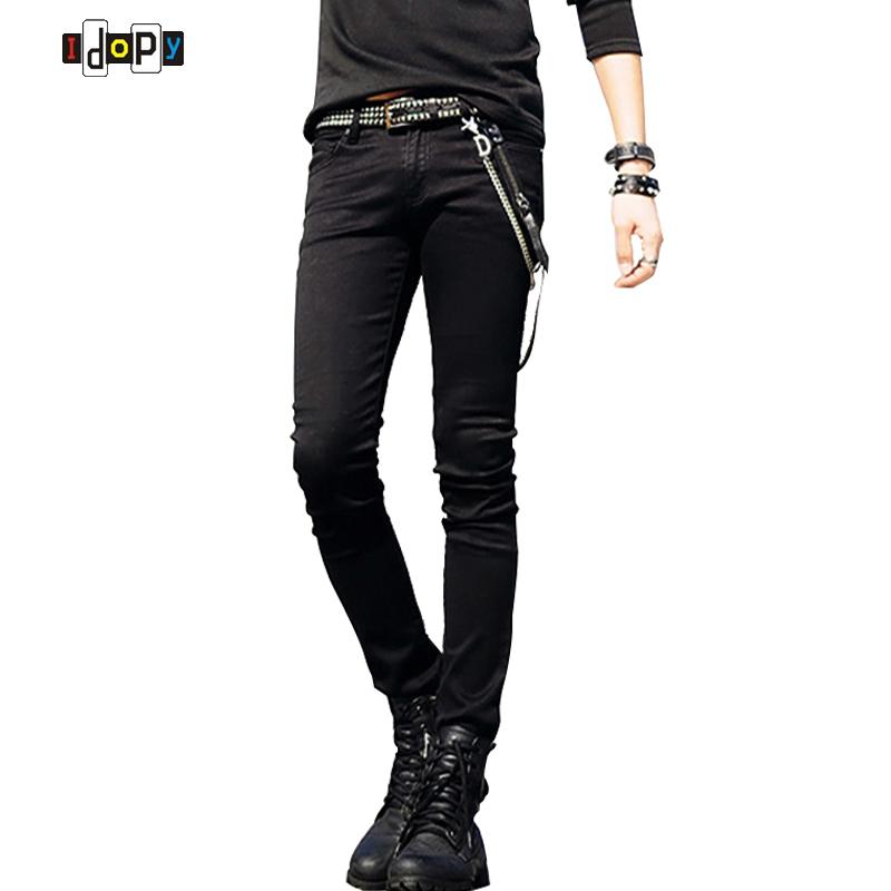 Slim Fit Jeans Punk Cool Super Skinny Pants