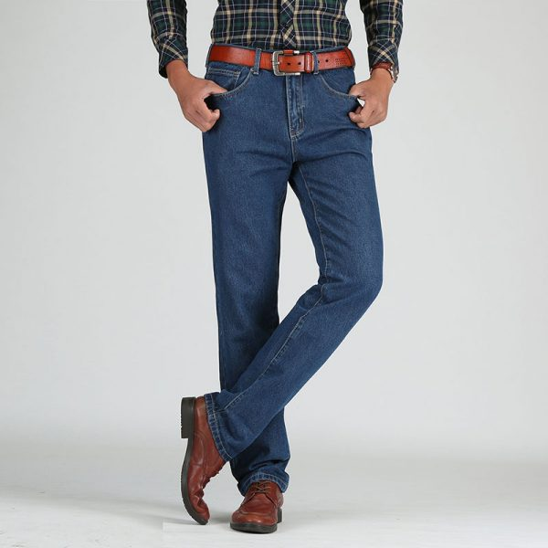Straight Classic Jeans Male Denim Pants