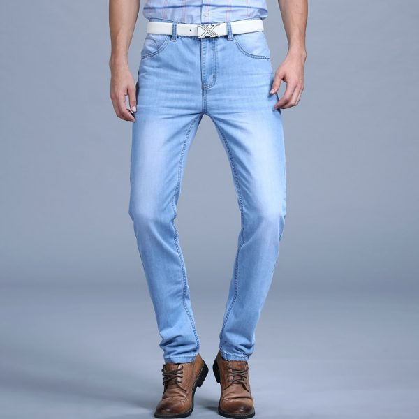 Summer Jeans Ultra Thin Men's Fashion Jeans
