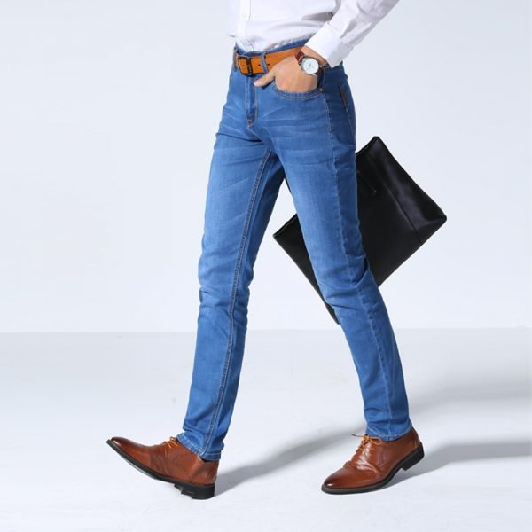 Thin Light Jeans Casual Slim Denim Jeans