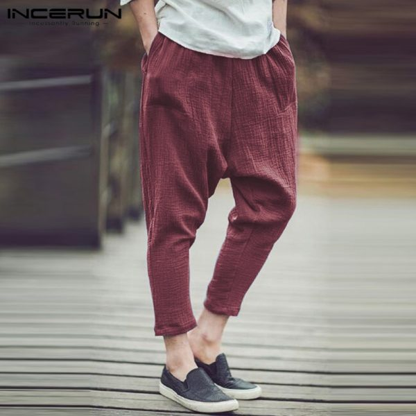 Fashion Men Harem Pants Casual Hip Hop Trousers