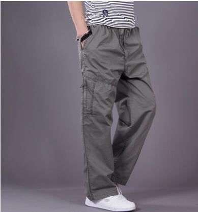 Casual Men Joggers Pants Harem Tactical Trousers