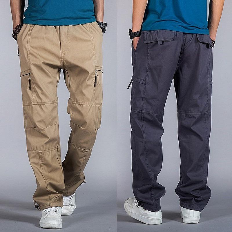 Casual Men Joggers Pants Harem Tactical Trousers