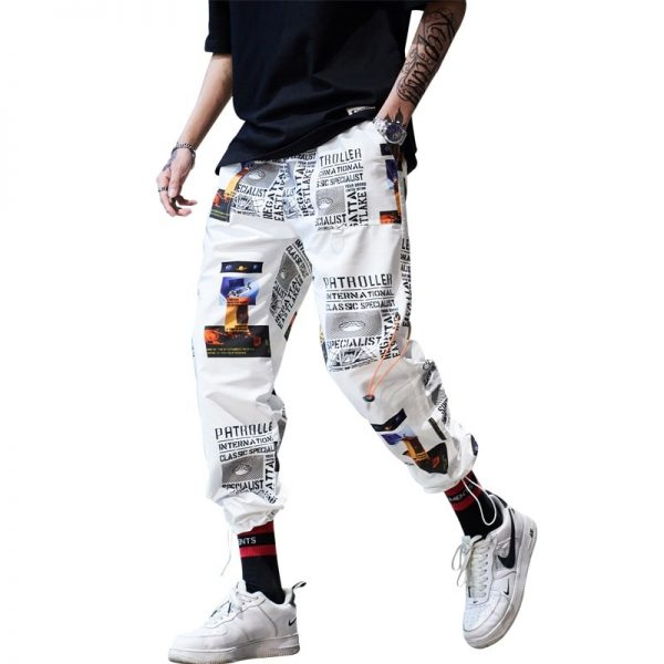 Ankle-length Pants, Fitness Joggers, harem pants, Hip Hop Sportswear, Men Pants, Street Trousers