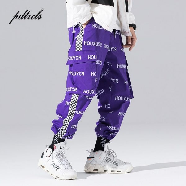 Casual Trousers, Fashionable Pants, harem pants, Letter Printed Pants, Men Jogger, Men Trousers, Trousers