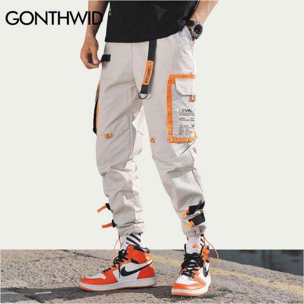 Cargo Pants, Drawstring Pants, harem pants, Hipster Sweatpants, Jogger Pants, Multi Pockets Pant, Track Trousers