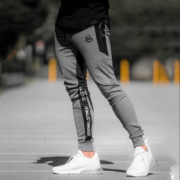 Cotton Sweatpants Gyms Fitness Trousers