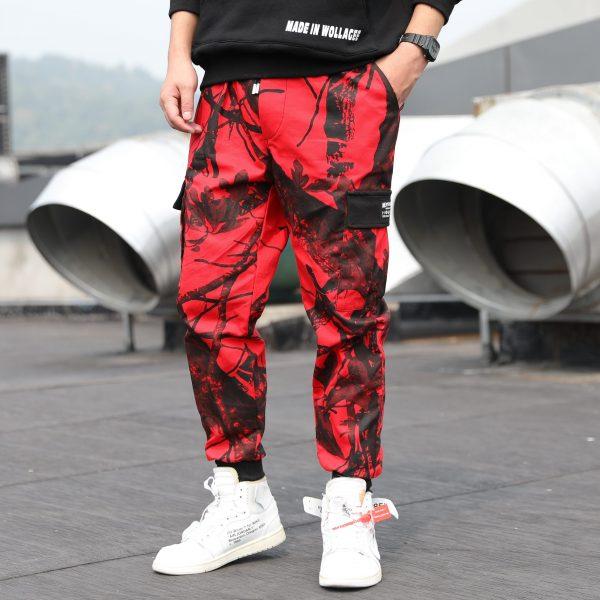 Camouflage Pants, Cargo Trousers, Hip Hop Pant, Jogger Pant, Streetwear, Sweatpants