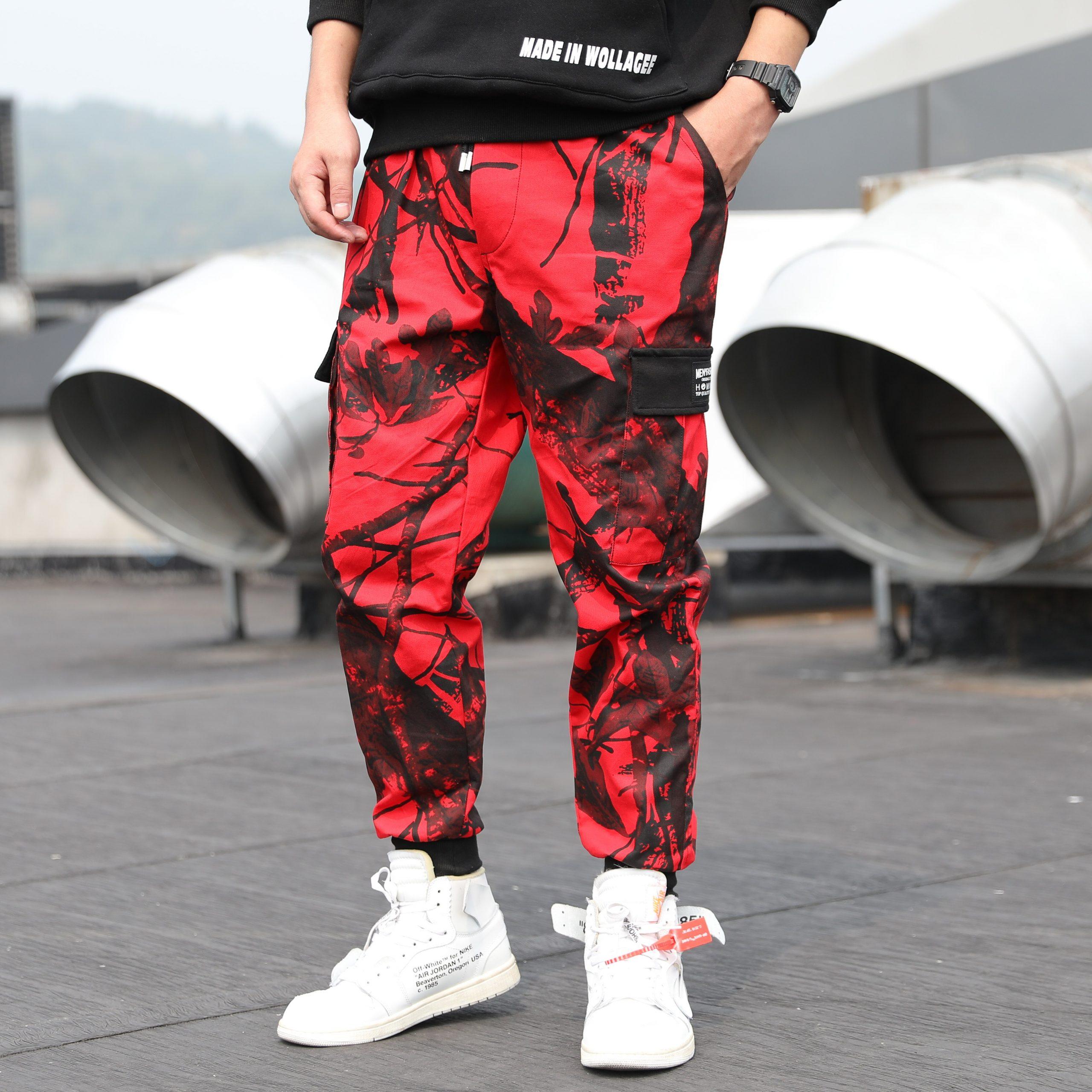 Hip Hop Cargo Trousers Jogger Pant