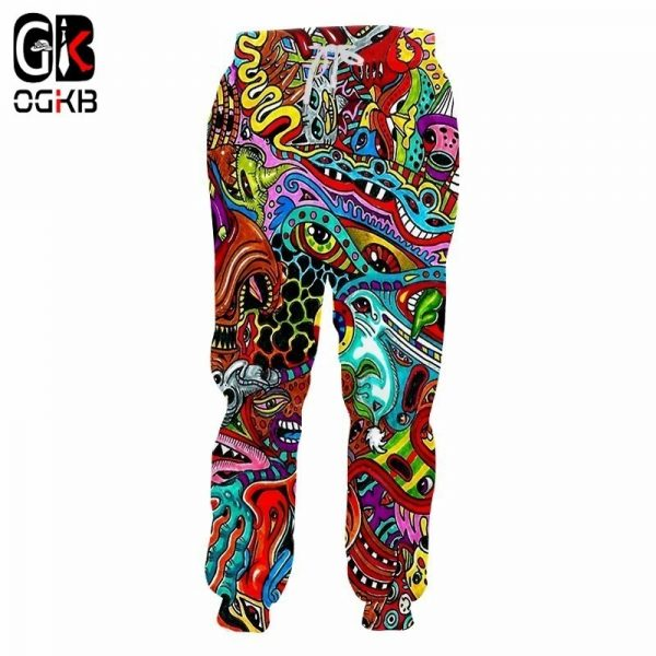 3D Sweat Pants Spring Sweatpants