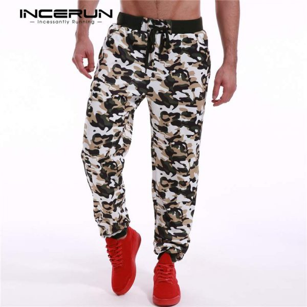 Camouflage Pants, Casual Sweatpants, Drawstring Pants, Joggers Pants, Men Pants, Printed Pants