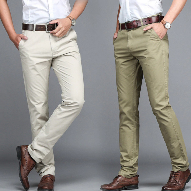 How to Wear Mens Dress Pants