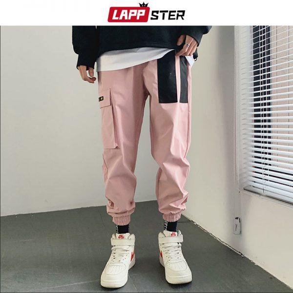 Cargo Pants, harem pants, Japanese Pants, Joggers Pants, Patchwork Pants, Streetwear