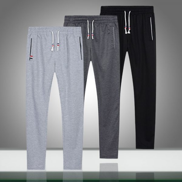 Bodybuilding Pants, Long Pants, loose trousers, Men Joggers, Striped Sweatpants, Sweatpants
