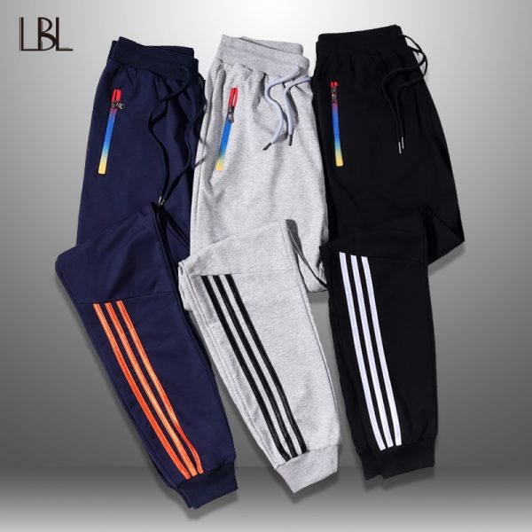Jogger Pants, Long Trousers, Men Pants, Sportswear, Striped Pants, Sweatpants