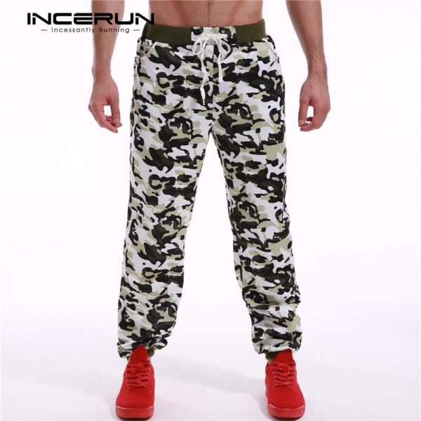 Men Sweatpants Camouflage Printed Pants