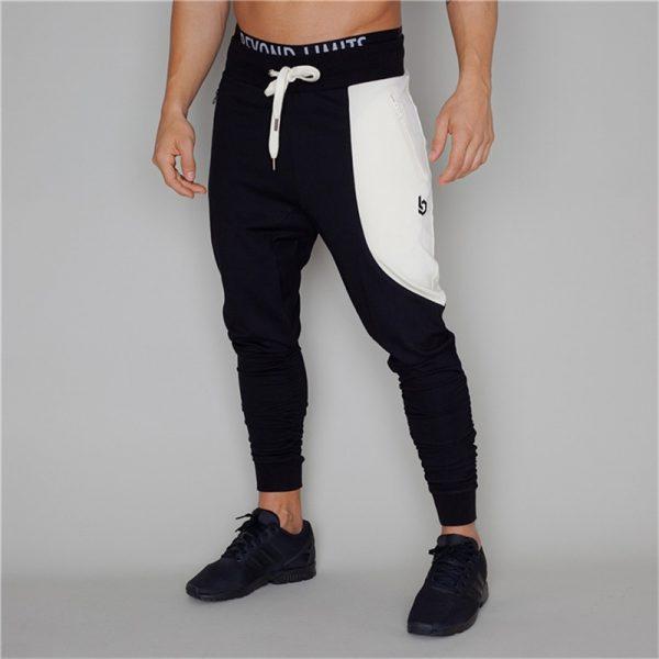 Men Sweatpants Fashion Cotton Trouser