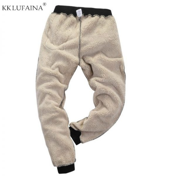 Fleece Joggers, Outside Pants, Streetwear, Thicken Sweatpants, Trousers, Warm Pants
