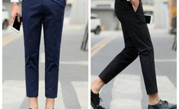 Ankle pants for men