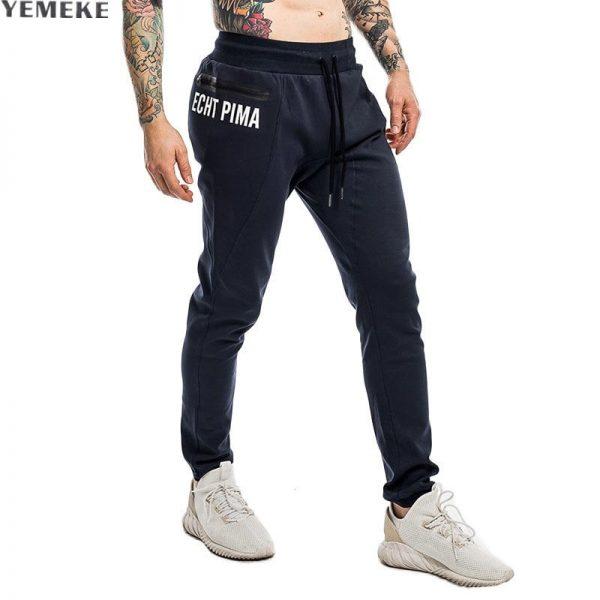 Men Fitness Sweatpants Pencil Pants