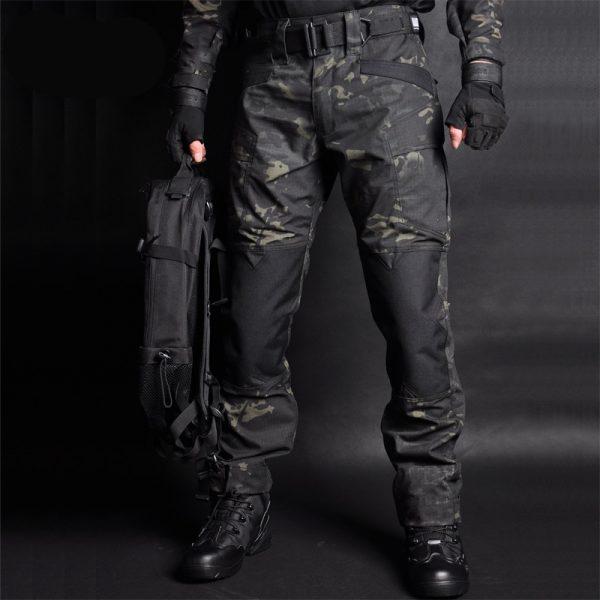 Men Jogger Military Cargo Sweatpants