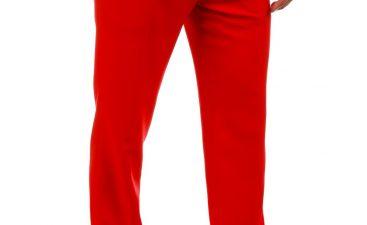 Mens red pants
